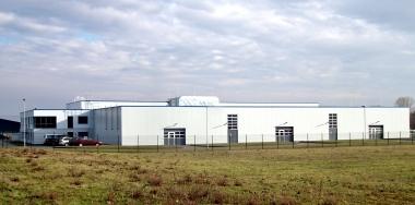 "Neue Produktionsstätten im ""Gewerbegebiet Smatvelde"" © Wolfgang Grothe"