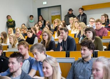 Studienbeginn an der Hochschule Harz in Wernigerode 2017 - Hochschule Harz
