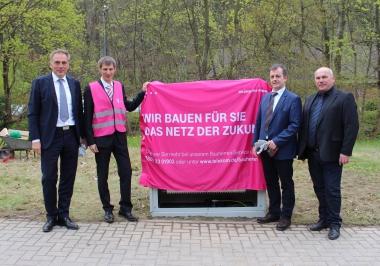 Baubeginn für den Ausbau von schnellen Internetanschlüssen - Stadtportal