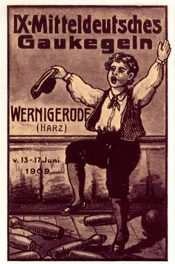 Mitteldeutsches Gaukegeln in Wernigerode - Stadtarchiv Wernigerode