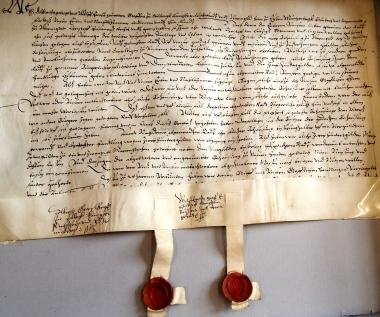 Urkunde vom 07.11.1571 - Stadtarchiv Wernigerode