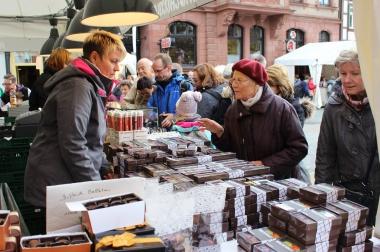 Schokoladenfestival auf dem Markt zu Wernigerode - Pressestelle Stadtverwaltung