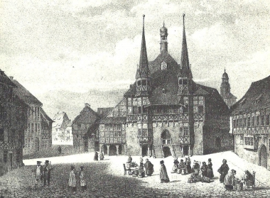 Das Rathaus - Wahrzeichen von Wernigerode - Dieter Oemler