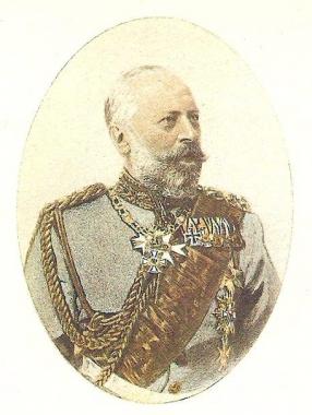 Graf Otto zu Stolberg-Wernigerode um 1890 - Konrad Breitenborn