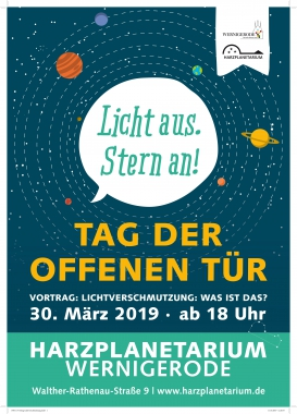 Plakat zum Tag der Astronomie - Winnie Zagrodnik