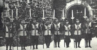 Schlosswache um 1920 - Dieter Oemler