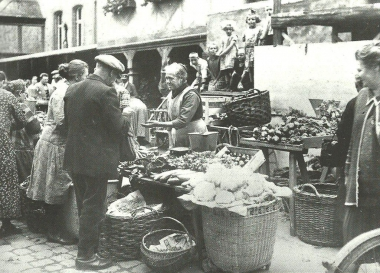 Wochenmarkt nach 1920 - Dieter Oemler