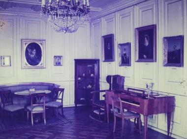 Zimmer im Schloss 1927 © Wolfgang Grothe