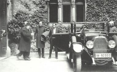 Besuch des ägypischen Königs Fuad I. in Wernigerode 1929 - Dieter Oemler