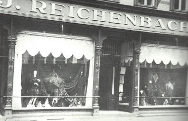 Geschäft des jüdischen Kaufmanns Reichenbach in der Breiten Straße 7 - Dieter Oemler