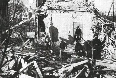 Kriegsschäden in Wernigerode - Dieter Oemler