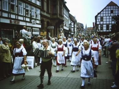 Deutscher Wandertag in Wernigerode 1996 © Wolfgang Grothe