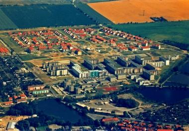 """Luftbildaufnahme """"Charlottenlust"""" und """"Harzblick"""" 1997 - Pressestelle Stadtverwaltung"""