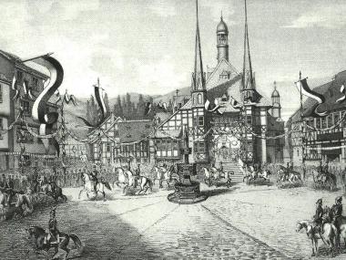 Rathaus Wernigerode - Harzbücherei Wernigerode