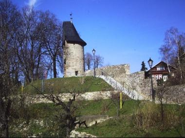 Stadtmauer in der Nähe des ehemaligen Vorwerks (2014) © Wolfgang Grothe