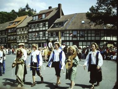 Festumzug zum 775jährigen Stadtjubiläum © Wolfgang Grothe