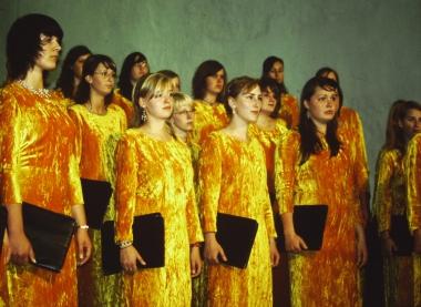 Chor des Landes-Musik-Gymnasiums © Wolfgang Grothe