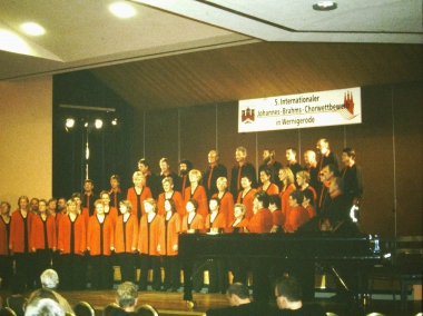 Kanadischer Chor in der Stadtfeld-Turnhalle © Wolfgang Grothe