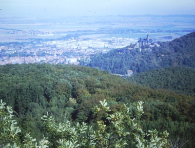 Blick auf Wernigerode © Wolfgang Grothe
