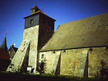 Klosterkirche Ilsenburg im Jahr 1995 © Wolfgang Grothe