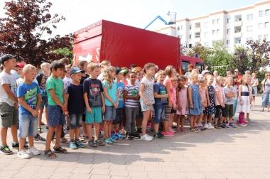 30 Jahre Kita Harzblick - Grundschulkinder - Winnie Zagrodnik