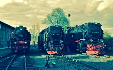 Brockenloks am Bahnhof Westerntor © Wolfgang Grothe