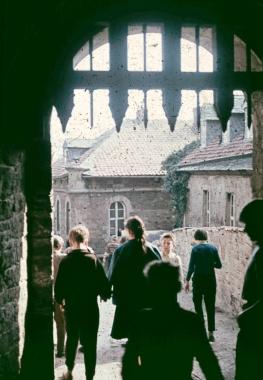 Aufgang zum Schloss - Stadtarchiv Wernigerode