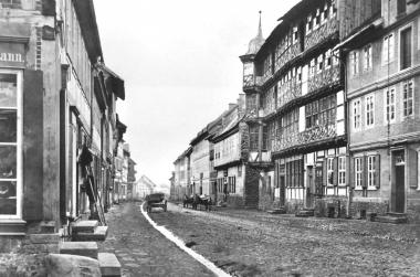 Breite Straße in der Zeit um 1867 - Dieter Oemler