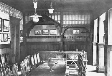 Sitzungssaal der Stadtverordneten im Untergeschoss des Rathauses - Dieter Oemler