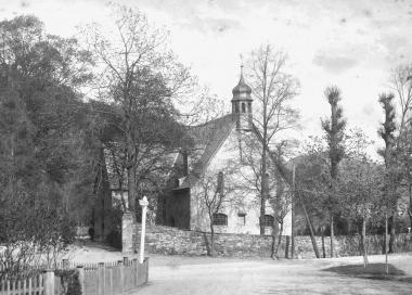 Theobaldikapelle, die als Sühnekapelle für den Wernigeröder Grafen Dietrich erbaut worden sein soll - Dieter Oemler