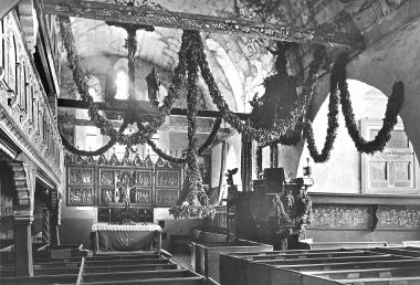 Blumengottesdienst zu Trinitatis in der Theobaldikapelle - Dieter Oemler