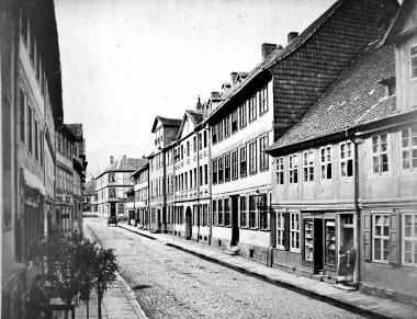 Obere Burgstraße um 1900 - Dieter Oemler