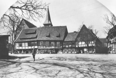 """""""Siegemund´sche Häuser"""" von 1617 am Teichdamm - Dieter Oemler"""