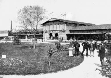 Gelände der zweiten Gewerbeschau 1879 - Dieter Oemler