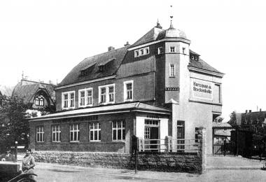 Erster Bahnhof der Harzquer- und Brockenbahn in Wernigerode - Dieter Oemler