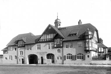 Schlachthof im Dornbergsweg - Fotothek Harzbücherei Wernigerode