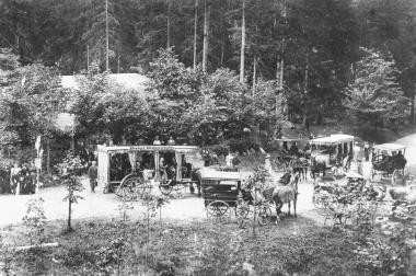 "Kaffeefahrt zur Gaststätte ""Silberner Mann"" 1895 - Dieter Oemler"