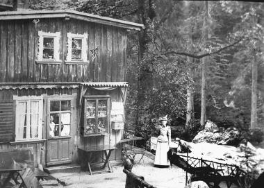 Gasthaus an der Steinernen Renne 1869 - Dieter Oemler