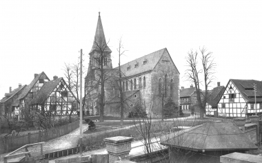Sylvestrikirche 1886 - Dieter Oemler