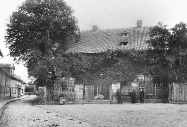 Obere Marktstraße, 1908 abgerissen - Dieter Oemler
