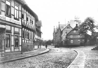Untere Marktstraße, Haus Nr. 5 im Jahr 1908 - Dieter Oemler