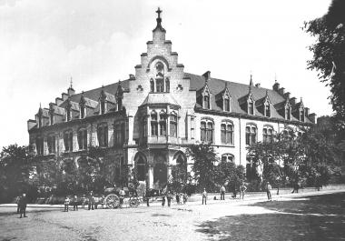 heutiges Gerhart-Hauptmann-Gymnasium - Dieter Oemler