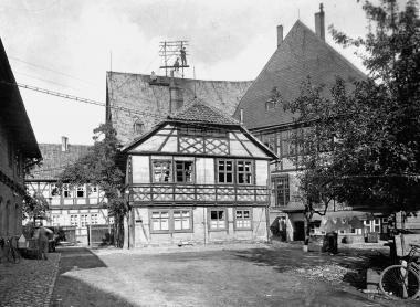 Ratsdienerhaus vor dem Abriss - Dieter Oemler