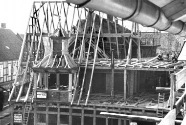 Umbauarbeiten am Rathaus - Bauarchiv
