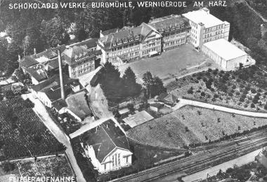 Schokoladenwerke Burgmühle von Ferdinand Karnatzki - Dieter Oemler