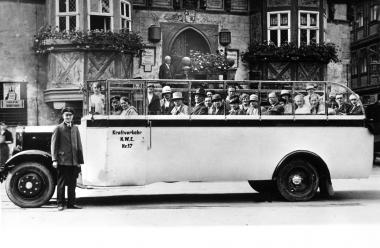 Kraftomnibus für die Strecke Wernigerode-Nordhausen 1926 - Dieter Oemler