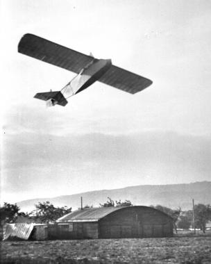 Segelflugplatz an der Charlottenlust in den 20er Jahren - Dieter Oemler