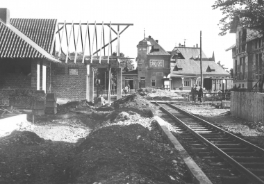 neuer Bahnhof für die Harzquerbahn - Dieter Oemler