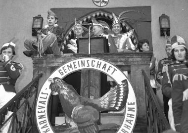Symbolische Übergabe des Stadtschlüssels an das Prinzenpaar - Dieter Oemler
