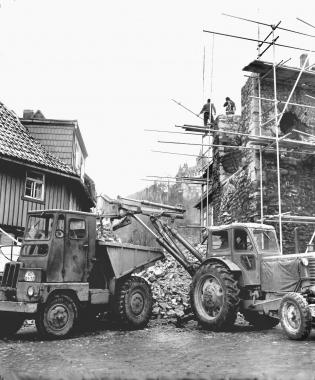 Abriss des Dullenturms - Dieter Oemler